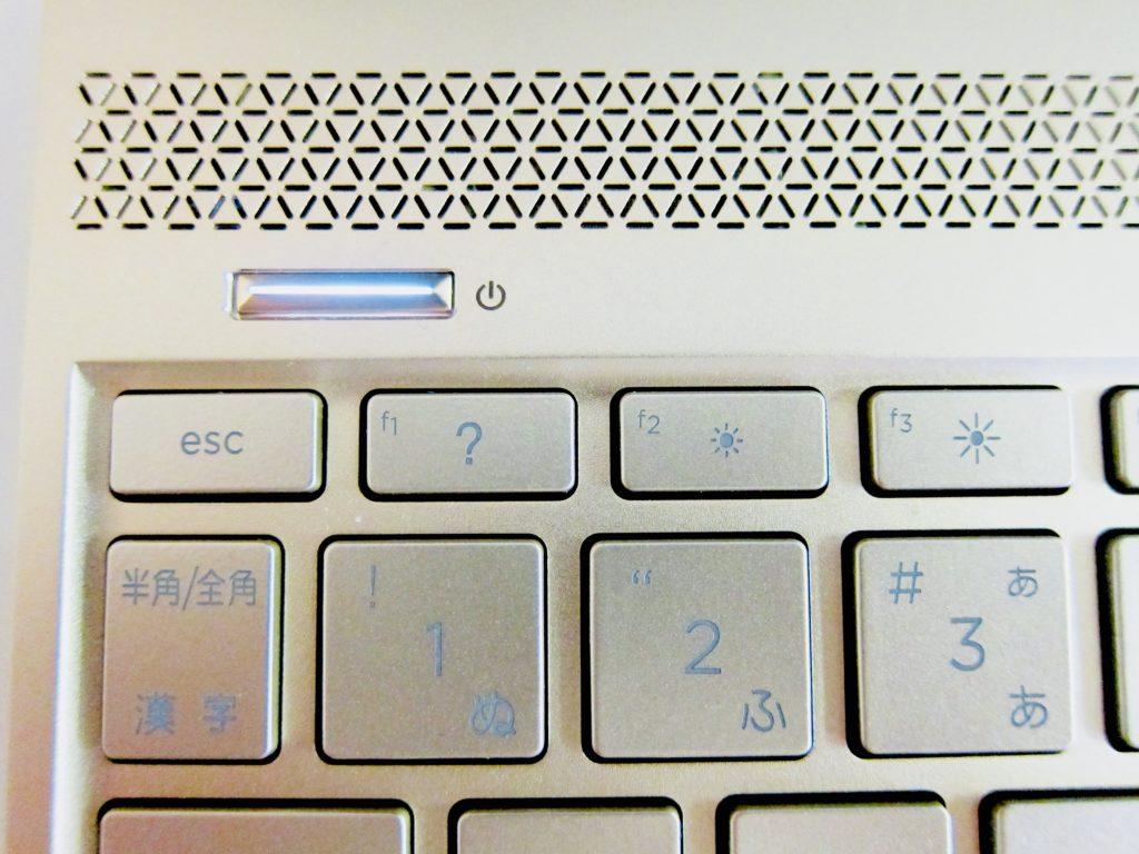 HP RNVY13電源ボタン